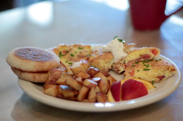 breakfast at the Readery Sandpoint Idaho