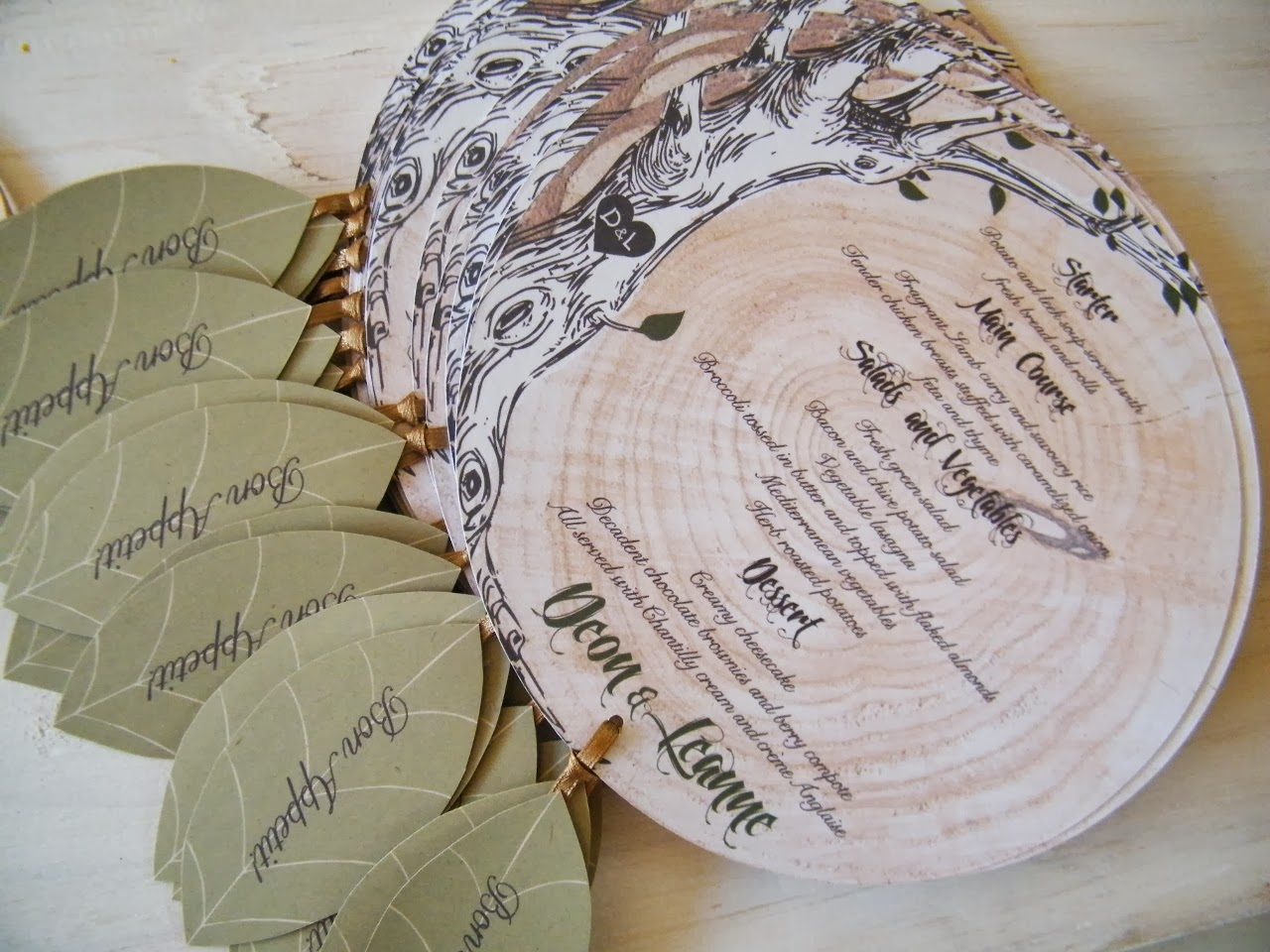 Nature Themed Wedding Invitations Trendy Settings Blog
