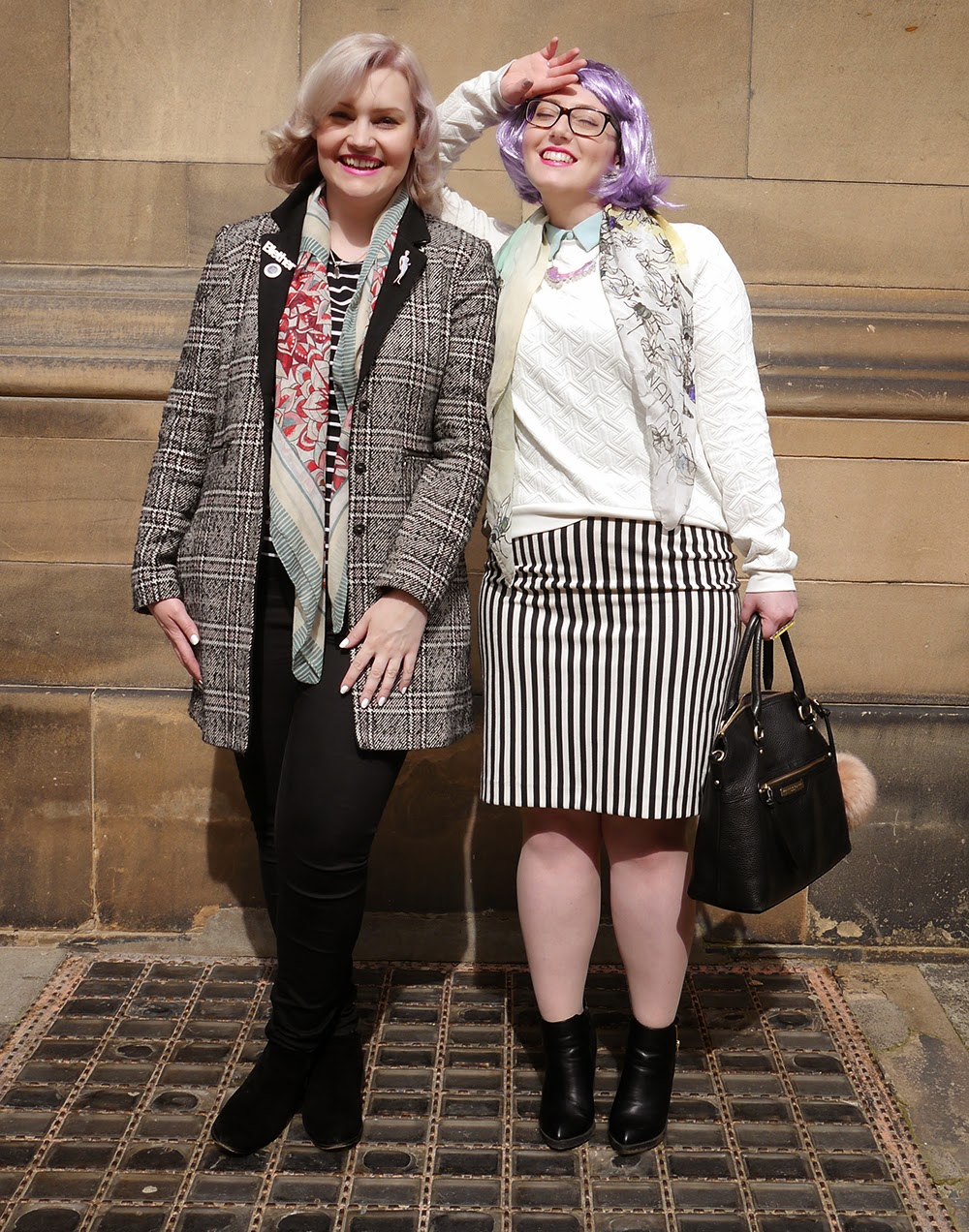 #scotstreetstyle, #EdFashion, Edinburgh, street style, friends, Scottish bloggers, Scotland, Awards, stylist, blogging duo, fbloggers