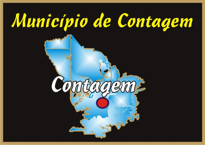 Mapa do Município de Contagem