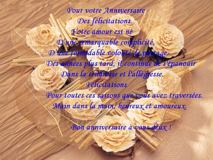 meilleure carte avec texte anniversaire de mariage gratuit imprimer - Texte Felicitations Mariage