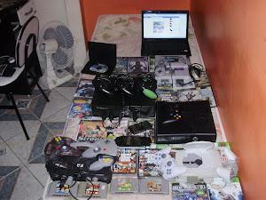 Minha coleção de games