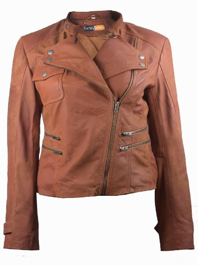 Kenneth Cole Leather Jacket Womens