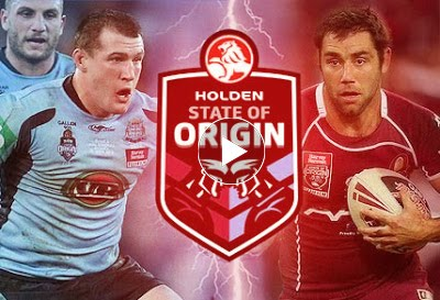 New South Wales vs Queensland Game 1 live