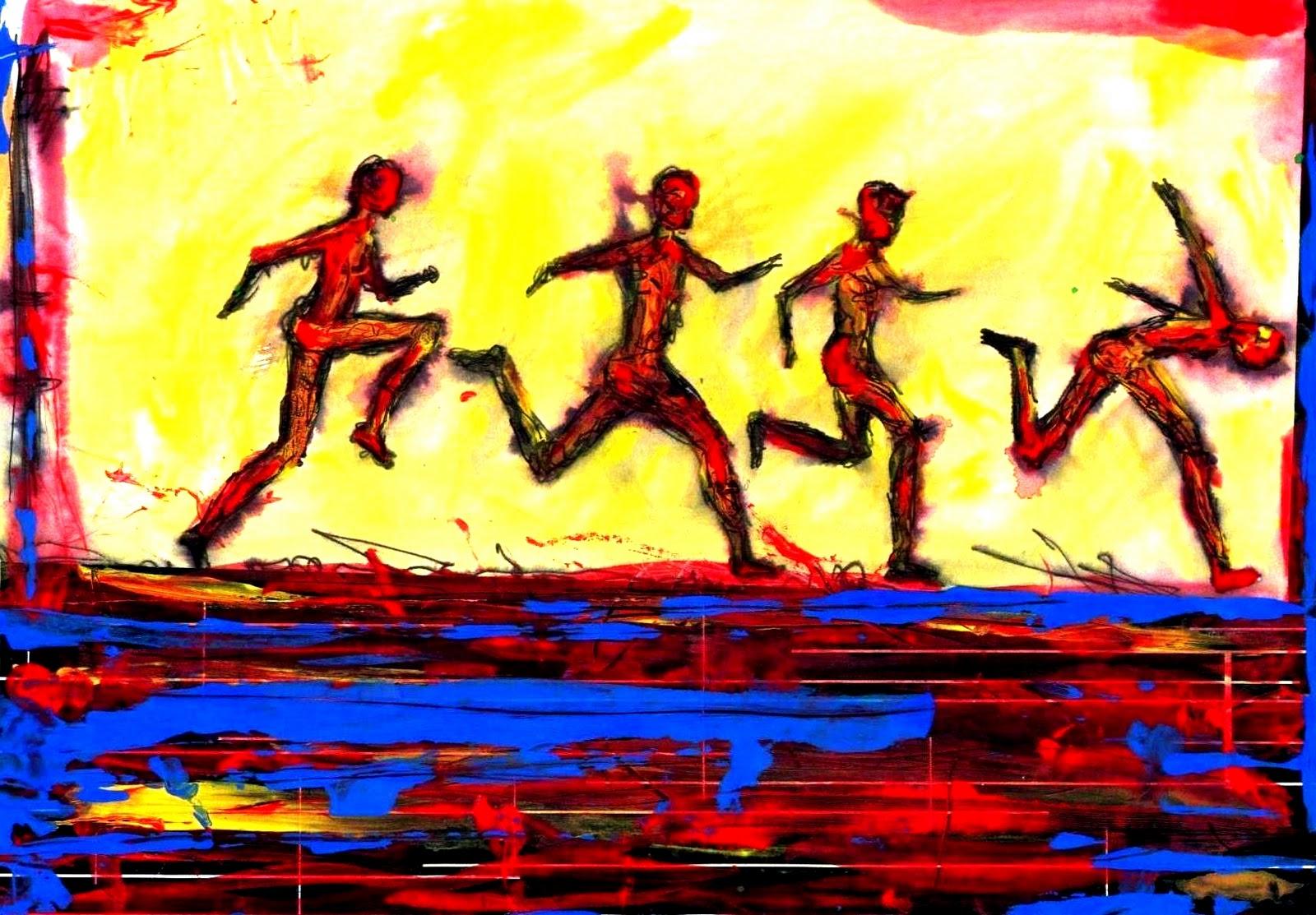 Arte antonio heredia corredores for Idea de pintura de corredor