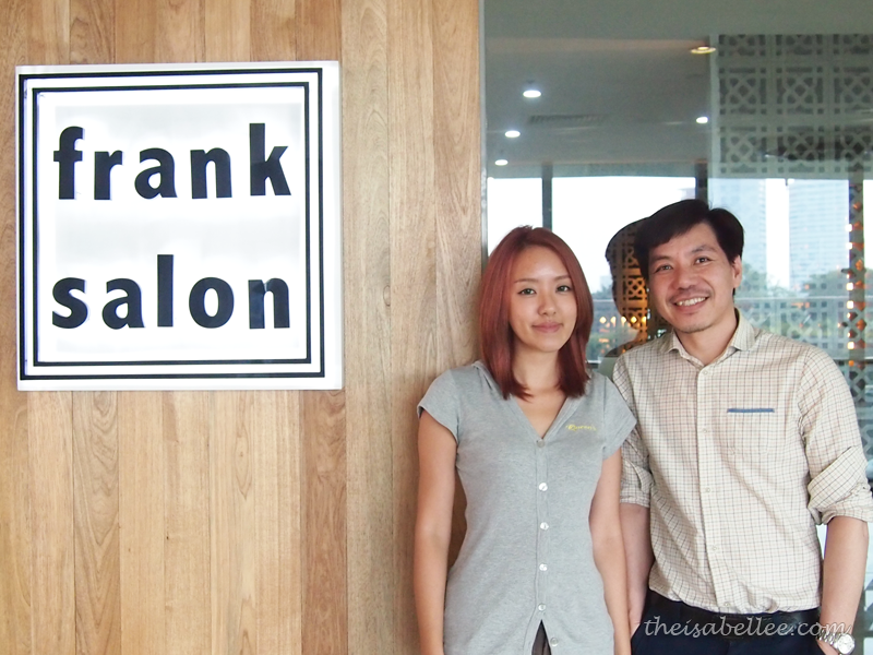 Me and Frankie at Frank Salon