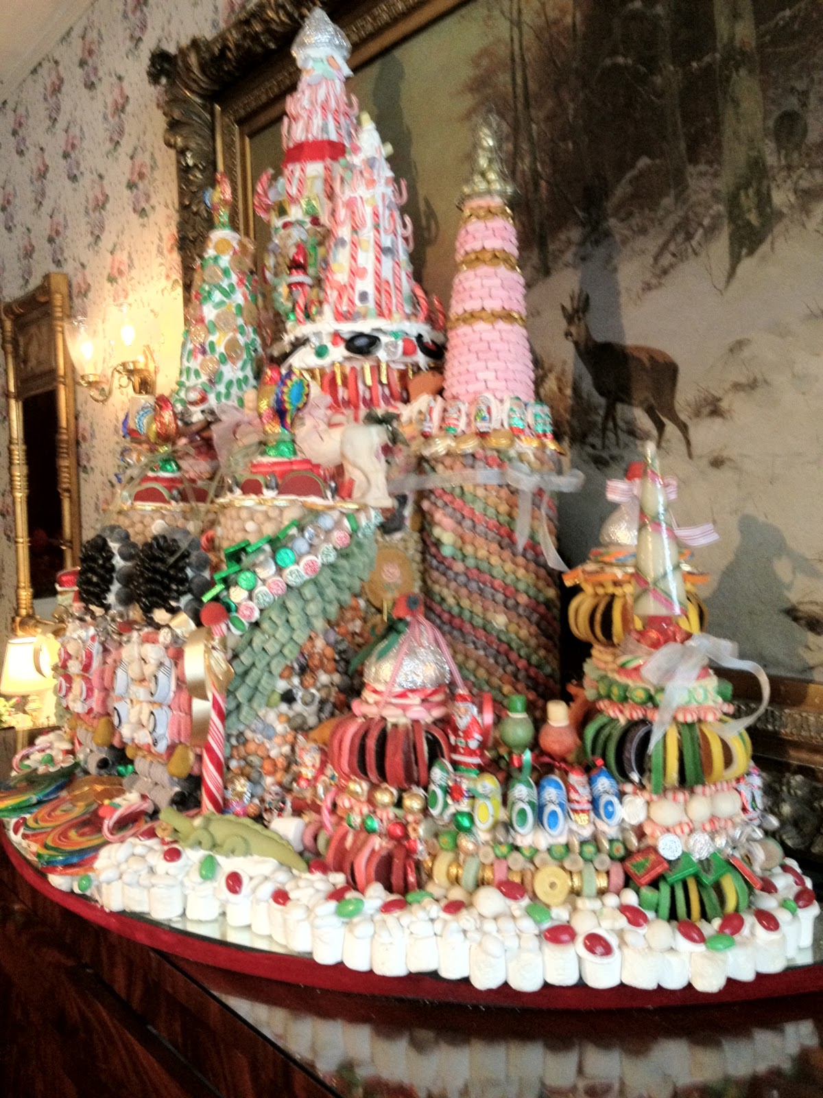 Candy Castle Cake Ideas and Designs