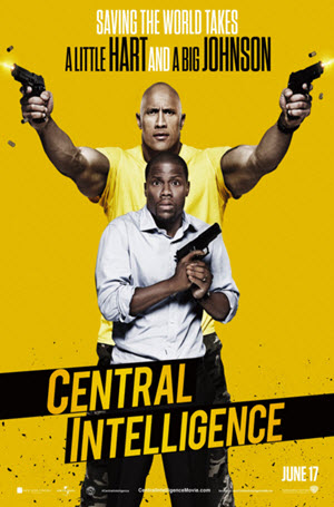 Central Intelligence: Official Release Poster