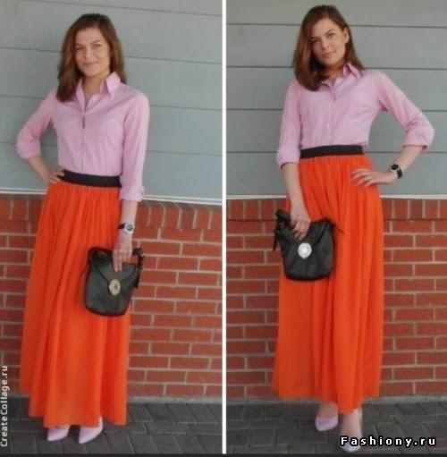 Какой должна быть длина юбки макси