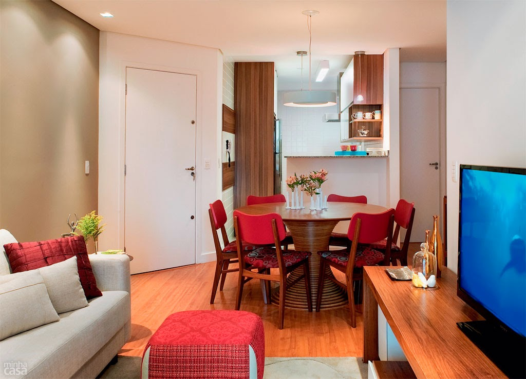Casa studio decora o com personalidade for Mesa de cafe pequena sala de estar