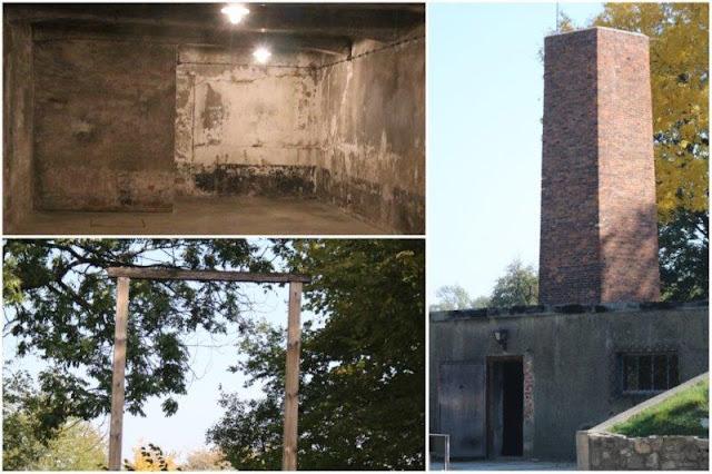Camara de gas numero 1 – Horca en el campo de concentración de Auschwitz I