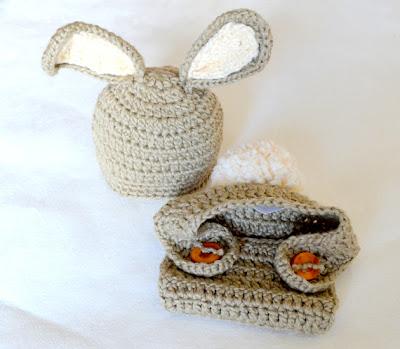 Crochet bunny hat pdf 3