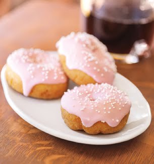 Day by Day♥♥♥: Starbucks Birthday Cake Mini Doughnut