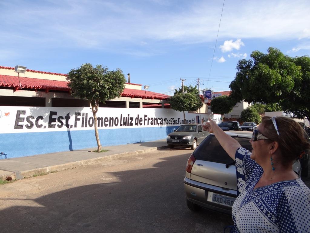 SRE Uruaçu: Reforma corretiva da Escola Estadual Filomeno Luiz de  #1E5CAD 1024x768