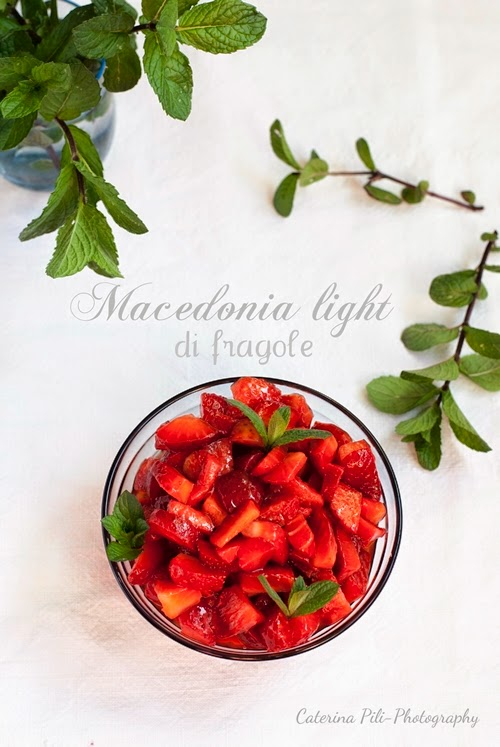 Macedonia light di fragole