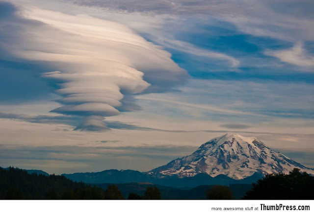 Beautiful Cloud Formation