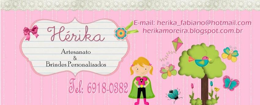 Hérika Artesanato & Brindes Personalizados.