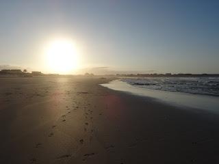 Llegada a la costa Cantábrica