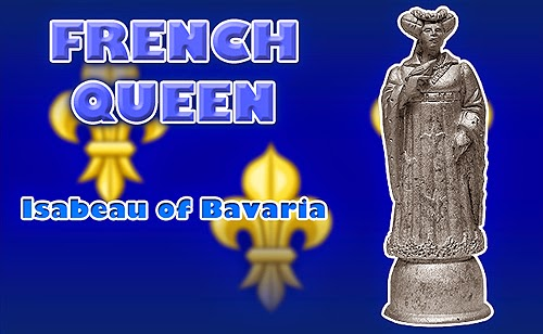 Battle of Agincourt Medieval French Queen Chess Piece