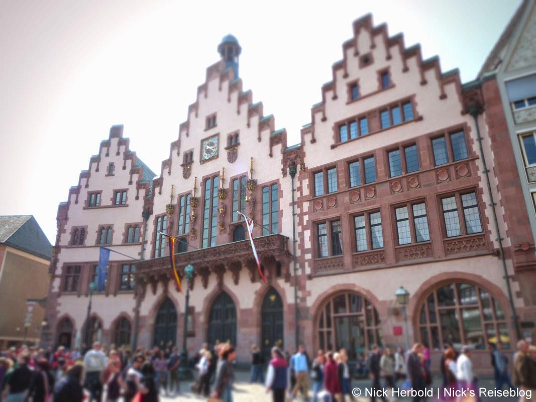Sehenswürdigkeiten Frankfurt am Main Römer, Rathaus, Römerberg