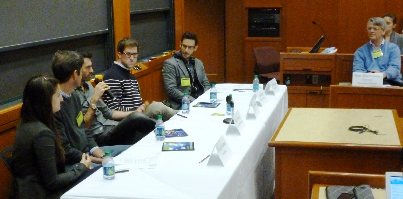 Cyberposium 2014 November 1 2014 Harvard Business School Panel