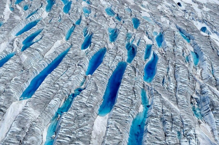 Самое большое отсечение ледника когда либо снятое