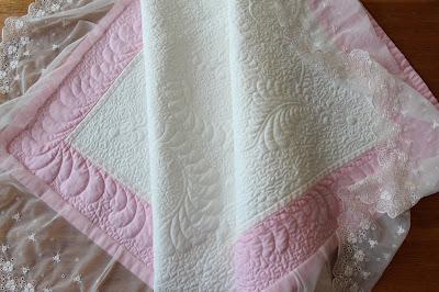 конверт - одеяло в технике имитации трапунто