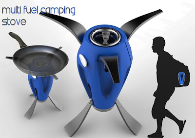 Creative Camping Stoves and Innovative Portable Cookers (15) 1