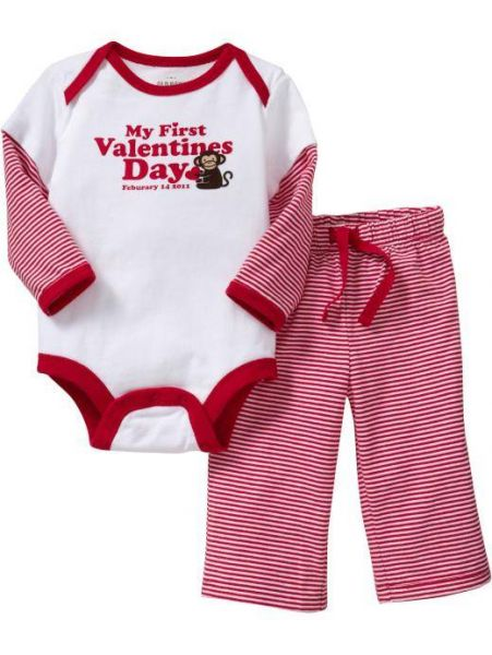 Xmasgifts Ideas MY FIRST VALENTINES DAY BABY CLOTHES MY