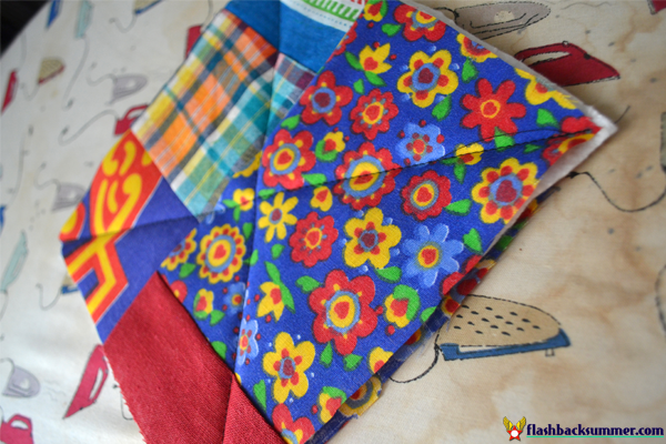 Flashback Summer: DIY Potholders - stash busting beginner's project