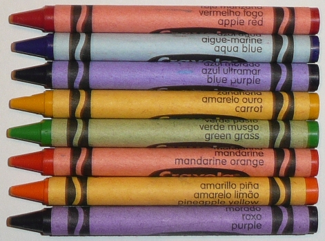 the crayon blog rare and not rare a visual look at crayola crayon