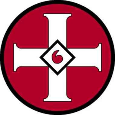 Symbols members of the Ku Klux Klan.
