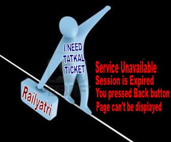 tatkal ticket booking common problems