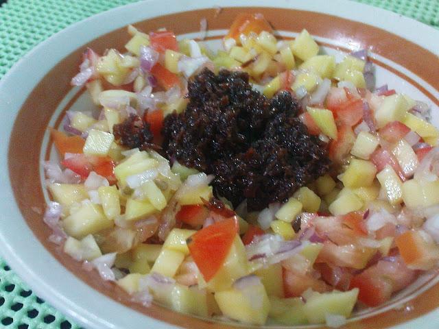 Ensaladang Mangga - Green Mango Salad