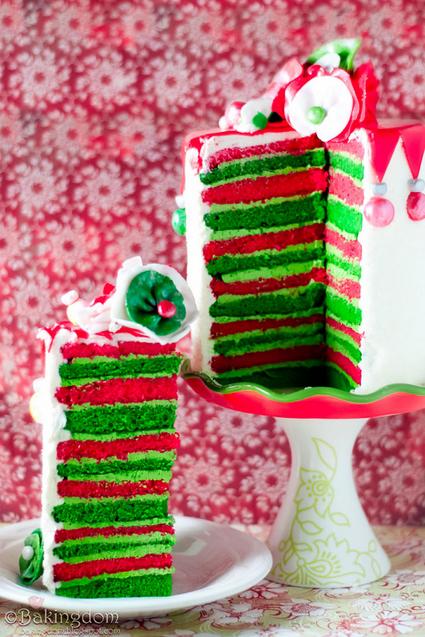 Cocina creativa de Navidad - pastel navideño Bakingdom