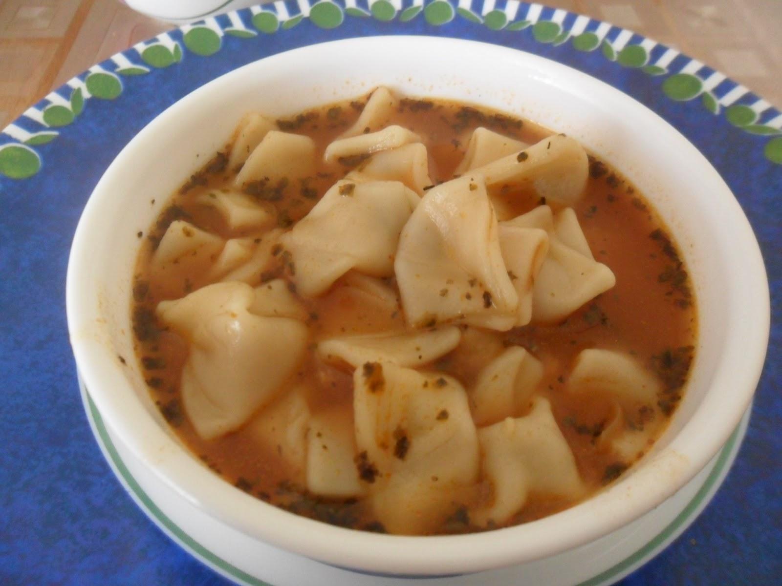 Sıcak Mantı Çorbası Tarifi