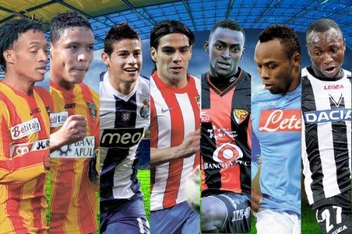 Futbolistas colombianos que jugarán en Europa esta temporada