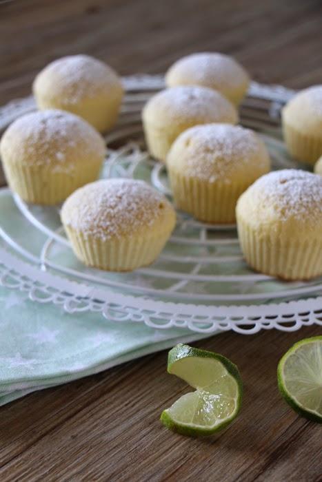 Limetten-Muffins