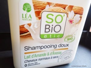 Shampooing doux au lait d'amande et d'ânesse So Bio étic