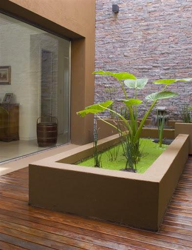 Contoh desain gambar model kolam ikan koi hias yang baik di samping atau didalam rumah