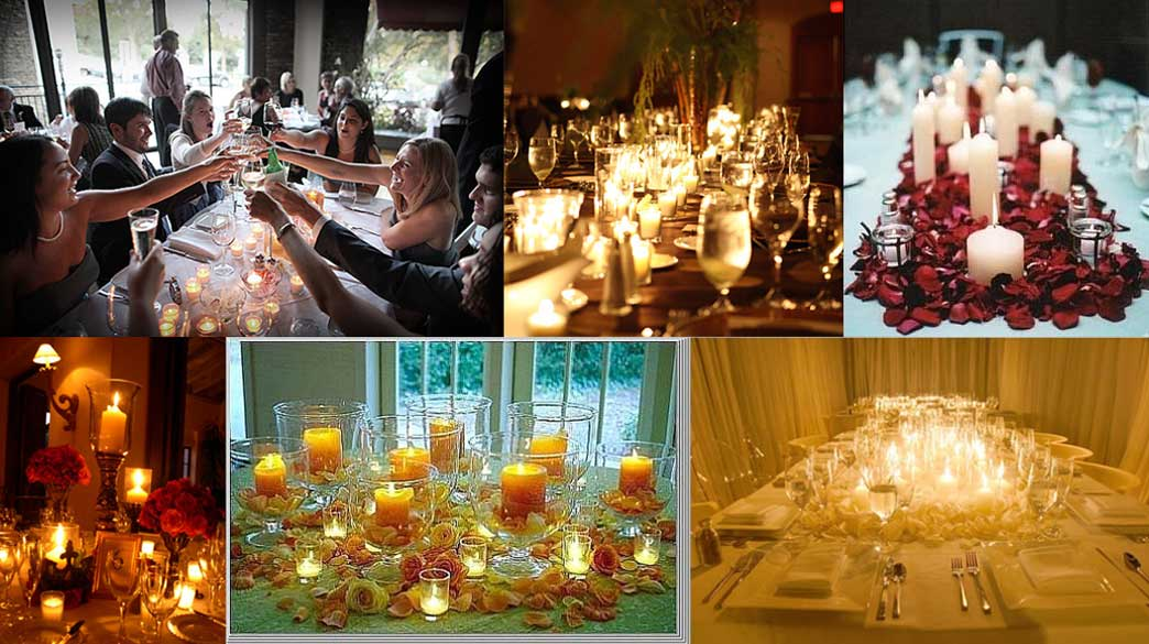Candle Centerpieces Wedding
