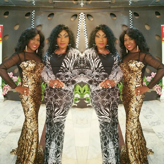[Photos] Susan Peters And Eucharia Anunobi Show Off Their Style