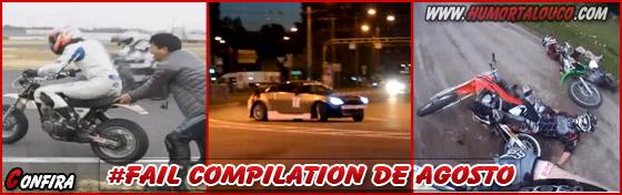 Vídeos Engraçados: FAIL Compilation Agosto de 2012 - Tombos - Acidentes e fails