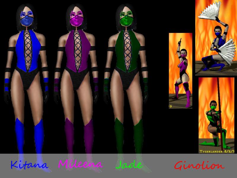 Ginolions mortal kombat costumes