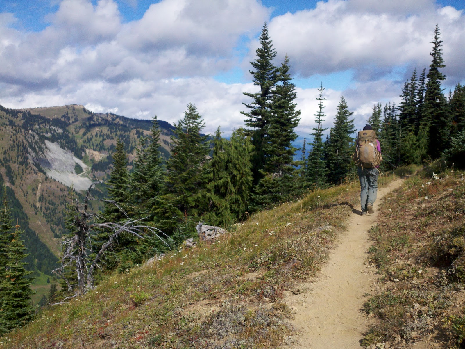 Hiking A Section Of The Pacific Crest Trail In Washington