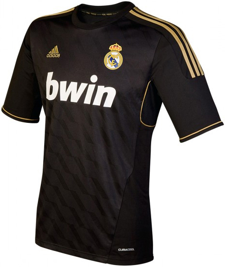 segunda camiseta Real Madrid 2012