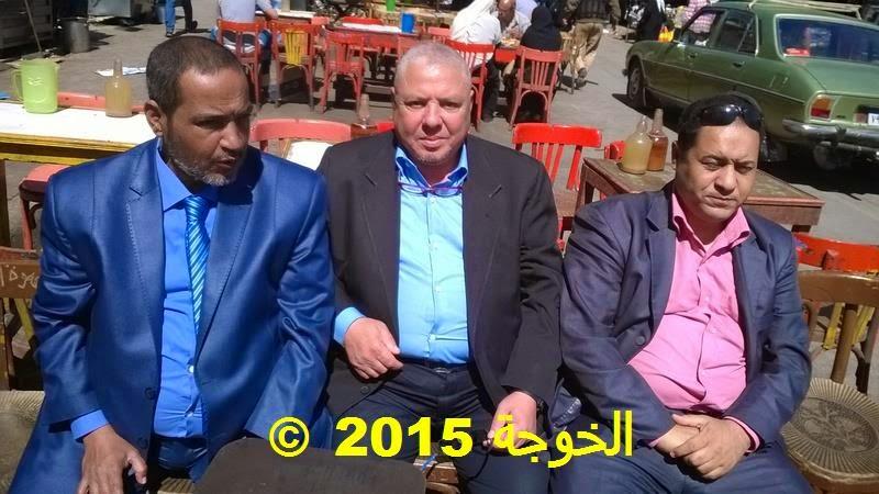 الحسينى محمد , الخوجة, ندوة المشاركة السياسية فى الانتخابات البرلمانية , تحالف المعلم المصرى,منشأة ناصر