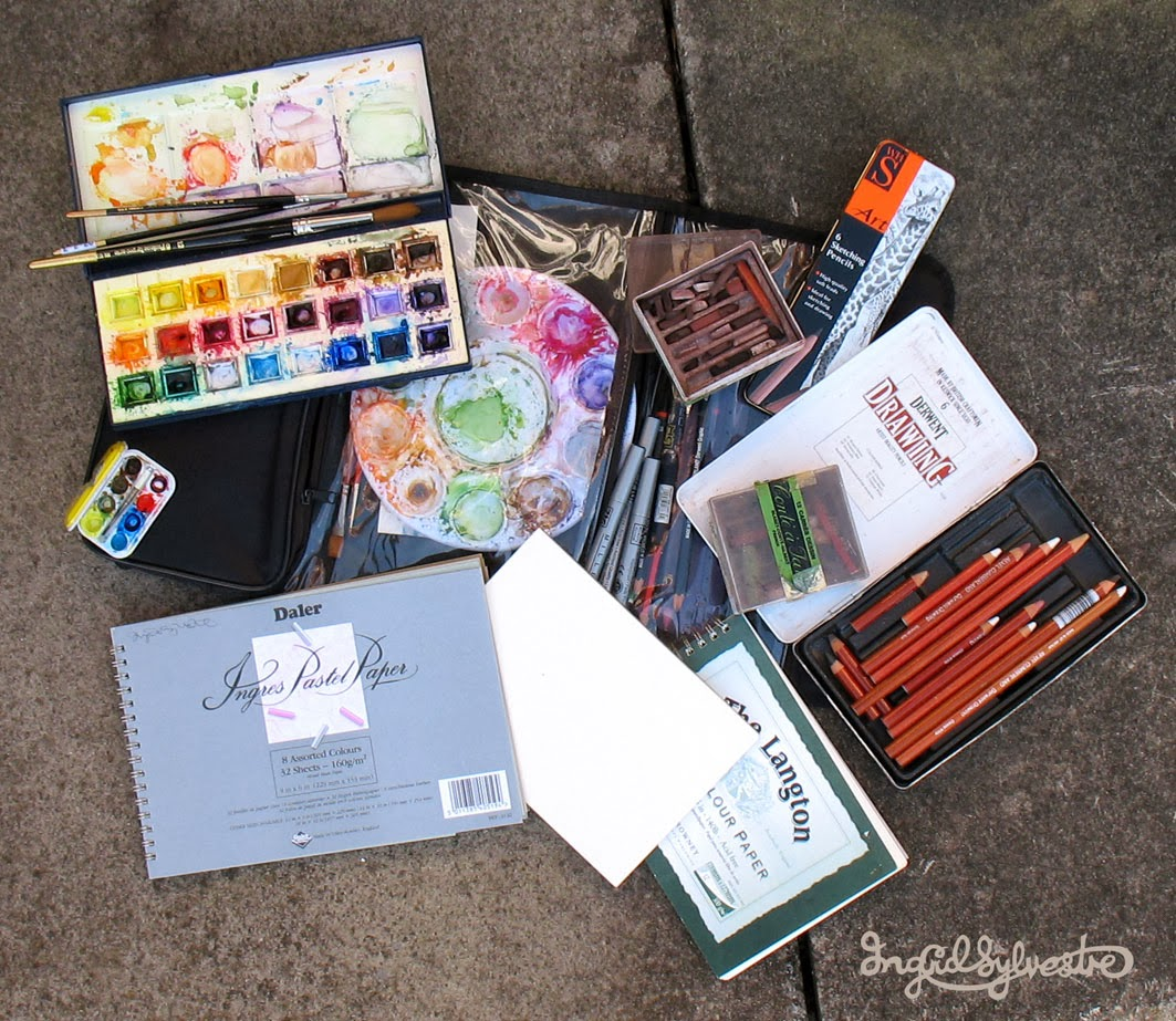 Outdoor Art Materials & Equipment - Ingrid Sylvestre