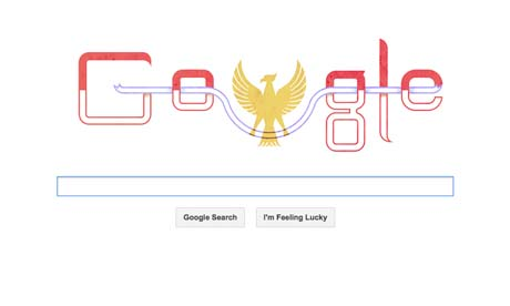 Google Rayakan Hari Kemerdekaan Indonesia