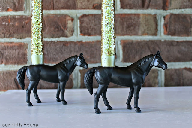 How to make a horse candle holder